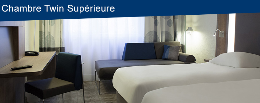 Chambre Twin Supérieure Le Havre